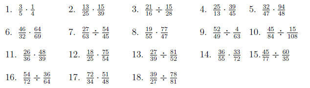 Prime factorization, Greatest Common Factor, and Least Common Multiple